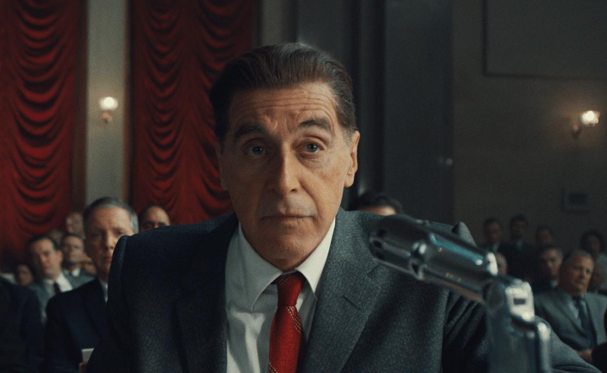 Al Pacino, exuberante como o sindicalista Jimmy Hoffa