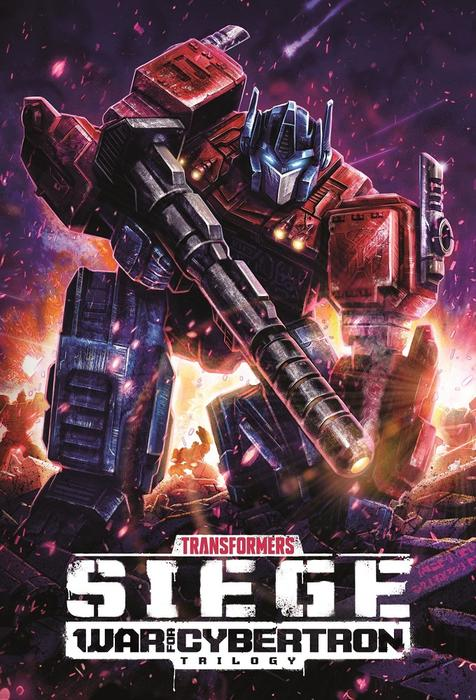 Optimus Prime em 'Transformers | War for Cybertron: O Cerco', da Netflix.