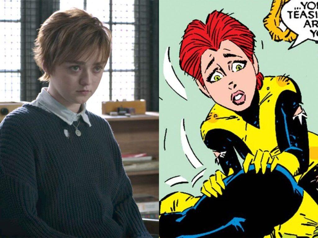 Maisie Williams será Rahne Sinclair, a Lupina (Wolfsbane) em Os Novos Mutantes.