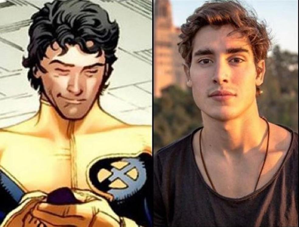 """Henry Zaga será Roberto """"Bobby"""" da Costa, o Mancha Solar (Sunspot), em Os Novos Mutantes."""