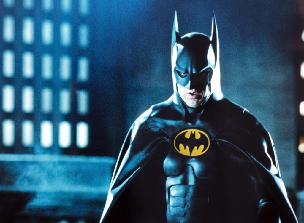 Michael Keaton como Batman em 1989. © WARNER BROS / EVERETT COLLECTION.