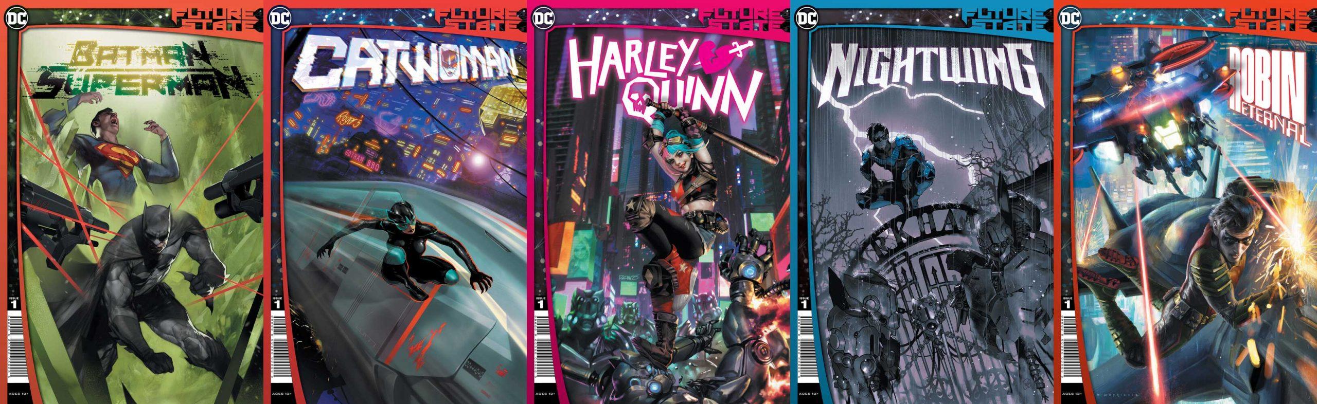 DC-Future-State-SupermanBatman-Catwoman-HarleyQuinn-Nightwing-RobinEternal-DCComics
