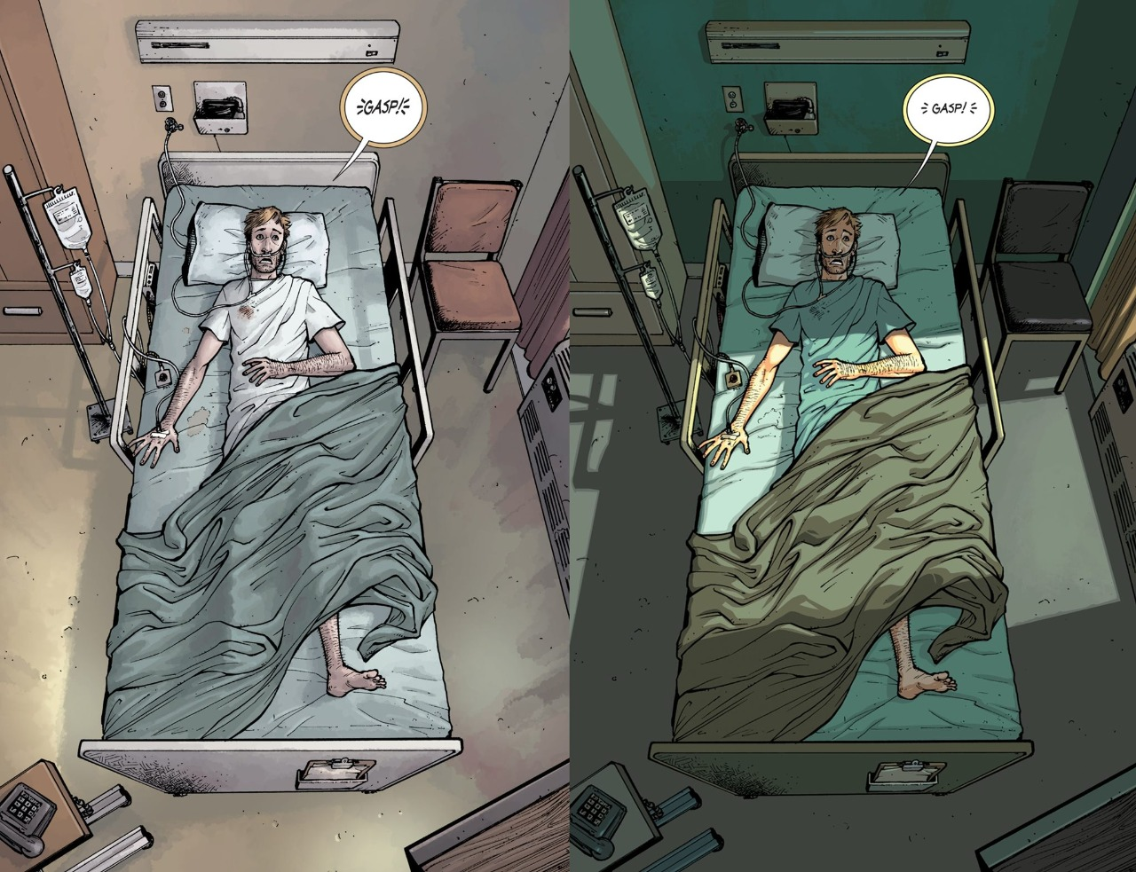The-Walking-Dead-Deluxe-colorida-comparação-01