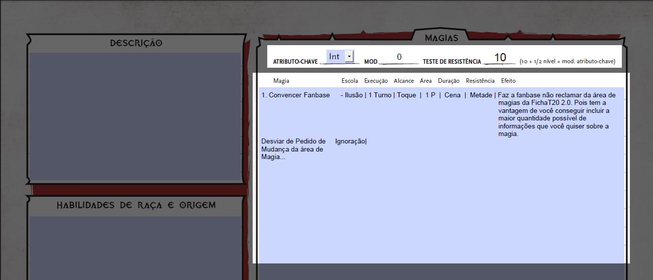 Tormenta20-Ficha-de-Personagem-Editável-FichaT20-2.0-duas-páginas-Magias-