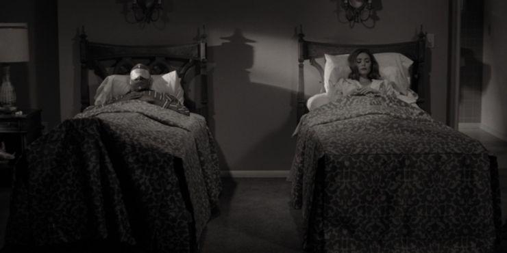 WandaVision-Vision-Wanda-Separate-Beds